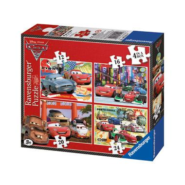 Ravensburger Cars 2 4 Puzzels