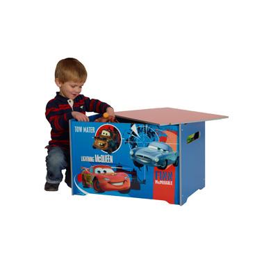 Disney Cars 2 Houten speelgoedkist