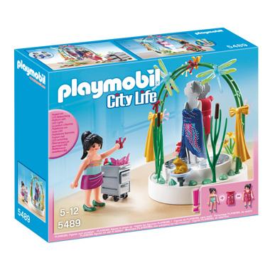 PLAYMOBIL City Life styliste met verlichte etalage 5489