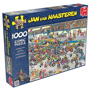 1000 Stuks Puzzel JVH Motorrace