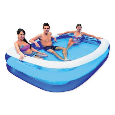 Zwembad rechthoek 2-rings