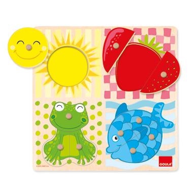 4 Kleuren Puzzel