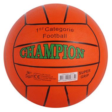 Straatvoetbal oranje
