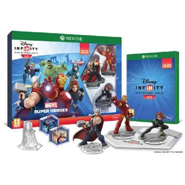 Xbox One Disney Infinity: Marvel Super Heroes starterpack