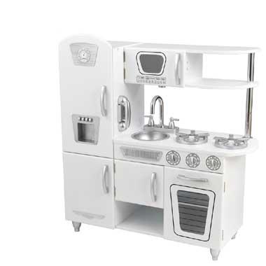 Witte vintage keuken