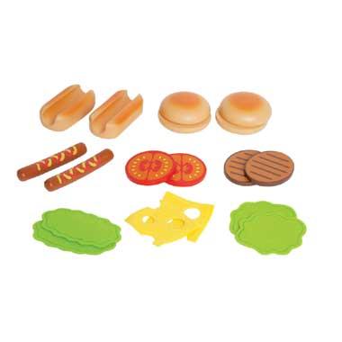 Houten Hamburgers & Hotdogs