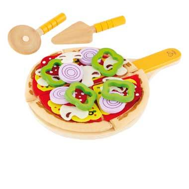 Houten Homemade pizza