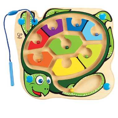 Schildpad magneetspel