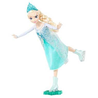 Disney Frozen schaatsende pop Elsa