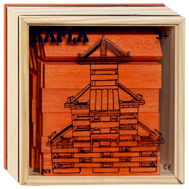 Kapla Kist 40-delig Oranje