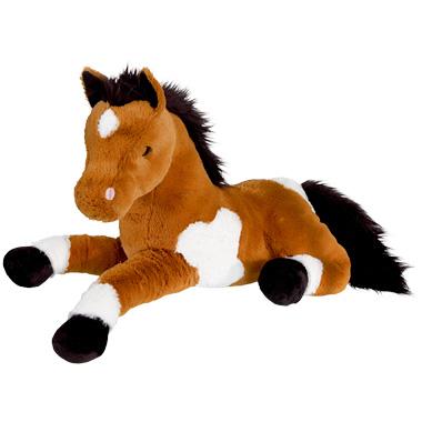 Pluchen Pony Liggend