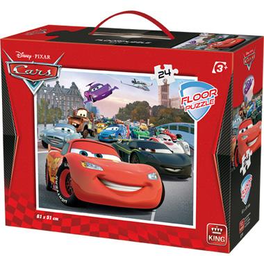 Disney Cars 2 vloerpuzzel - 24 stukjes