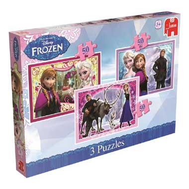 150 Stuks Disney Frozen Puzzel