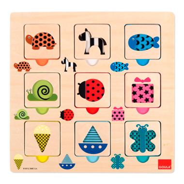 Textuur en Kleuren Puzzel