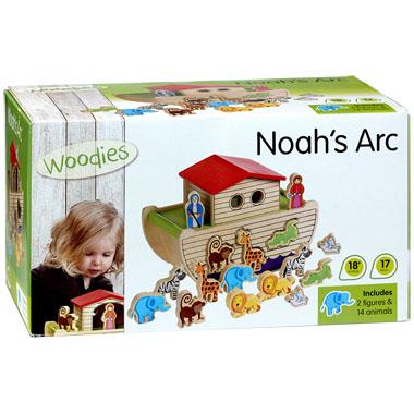 Ark van Noach Houten Vormenstoof