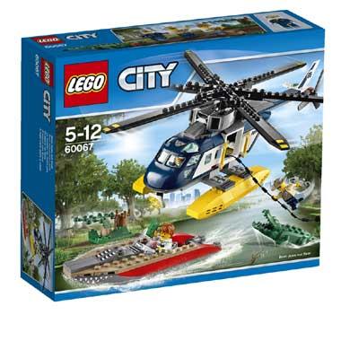 LEGO City helikopter achtervolging 60067