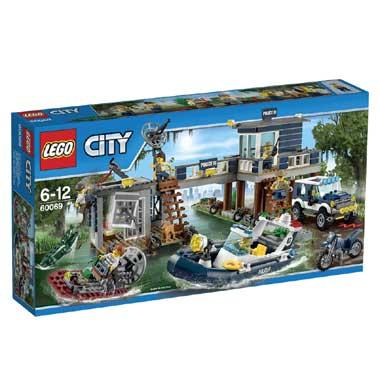 LEGO City moeraspolitie hoofdbureau 60069