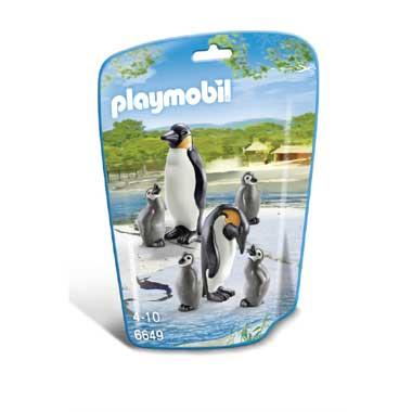 PLAYMOBIL pinguïns met jongen 6649