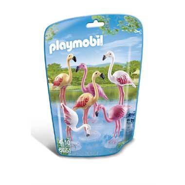 PLAYMOBIL groep flamingo's 6651