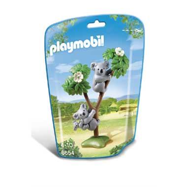 PLAYMOBIL koala's met baby 6654
