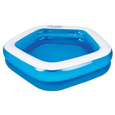 Jilong vijfhoekig kinderzwembad - blauw