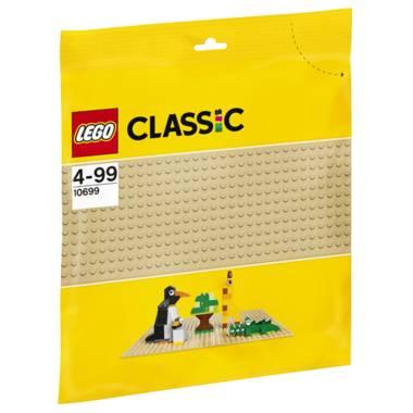 LEGO Classic zandkleurige bouwplaat 10699