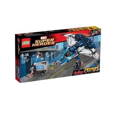 76032 Lego Super Heroes Avengers Quinjet Achtervolging