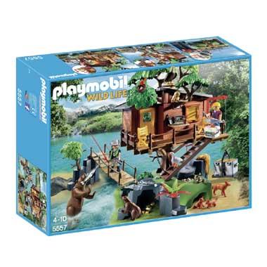 PLAYMOBIL Wildlife avontuurlijke boomhut 5557