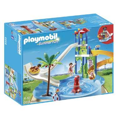 PLAYMOBIL Summer Fun waterpretpark met glijbanen 6669