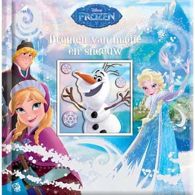 Disney Frozen kartonboek - Dromen van magie en sneeuw