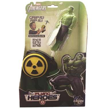 Flying Heroes Avengers Hulk figuur
