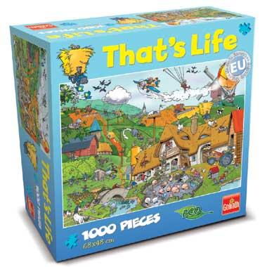 That's Life puzzel boerderij - 1000 stukjes