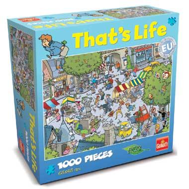 That's Life puzzel dorp - 1000 stukjes