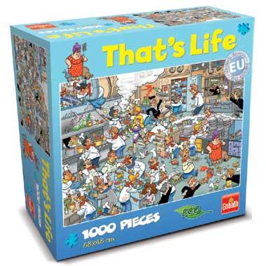 That's Life puzzel keuken - 1000 stukjes