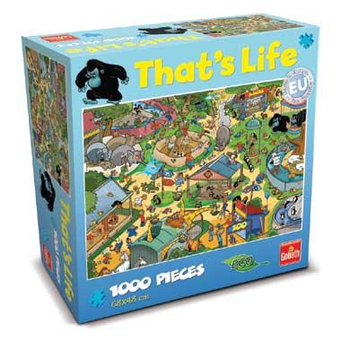 That's Life puzzel dierentuin - 1000 stukjes