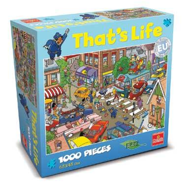 That's Life puzzel verkeersopstopping - 1000 stukjes