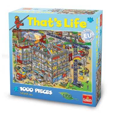 That's Life puzzel bouwplaats - 1000 stukjes