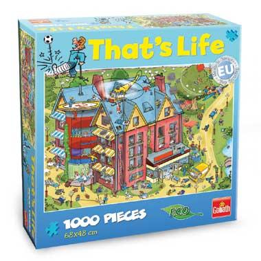 That's Life puzzel ziekenhuis - 1000 stukjes
