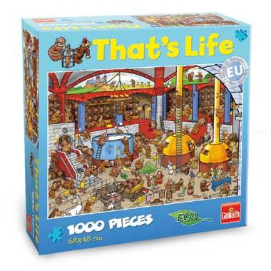 That's Life puzzel brouwerij - 1000 stukjes