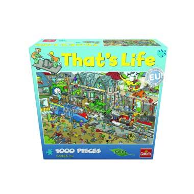 That's Life puzzel trein - 1000 stukjes