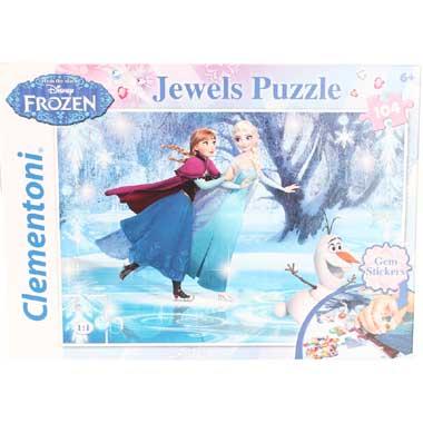 Clementoni Disney Frozen Puzzel 104 stuks