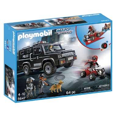 PLAYMOBIL City Action speciale politie eenheden 5647