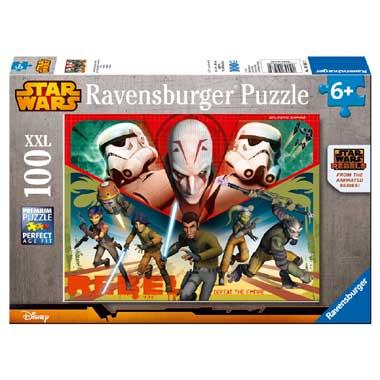 Ravensburger Star Wars Rebels puzzel 100 stukjes