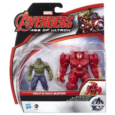 Marvel Avengers Hulk en Hulk Buster actiefiguren