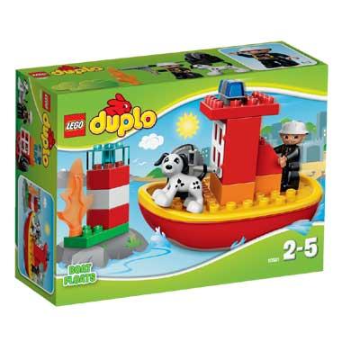 LEGO DUPLO brandweerboot 10591