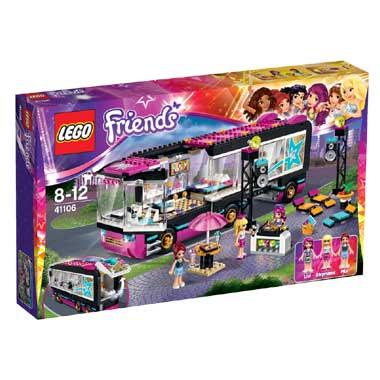 LEGO Friends popster toerbus 41106