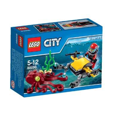 LEGO City diepzee duik scooter 60090