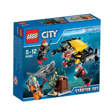 LEGO City diepzee starterset 60091