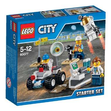 LEGO City ruimtevaart starterset 60077