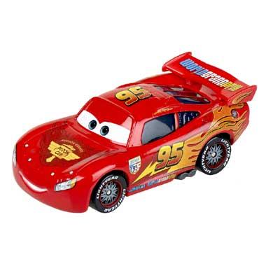 Disney Cars 2 Bliksem McQueen raceauto